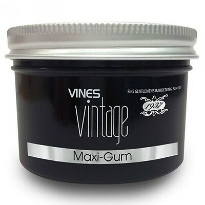 VINES VINTAGE - Maxi Gum - 125ml Mens Grooming STRONG HOLD HAIR WAX  • 6.49£