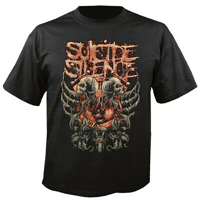 £15.35 • Buy SUICIDE SILENCE - Double Skull - T-Shirt