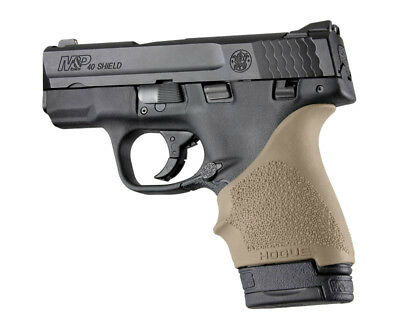 $11.89 • Buy Hogue HANDALL S&W M&P Shield/Ruger LC9 Beavertail Grip Sleeve-FDE-18403