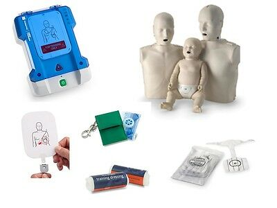 £235 • Buy Prestan CPR Manikin AED Training Pads Dressings Lungs Adult Infant First Aid