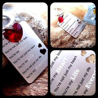Gifts For Him Men Her Valentines Day Love Romantic Wife Husband Boyfriend Woman • 4.95£