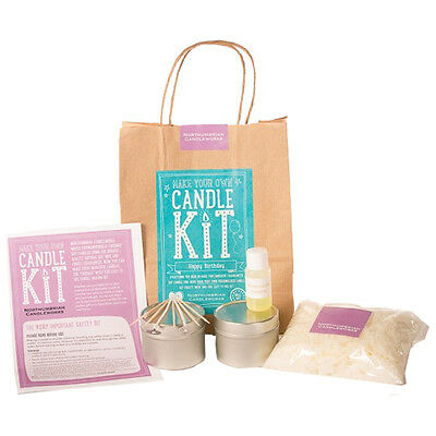 Northumbrian Candles - Make Your Own Soy Candle Kit - Happy Birthday • 15.99£