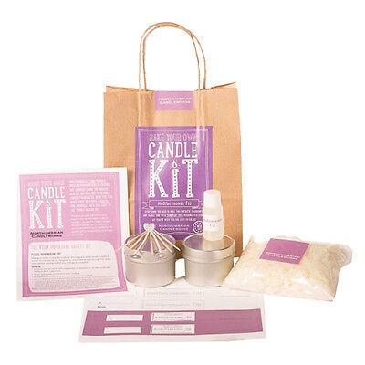 Northumbrian Candles - Make Your Own Soy Candle Kit - Mediterranean Fig • 15.99£