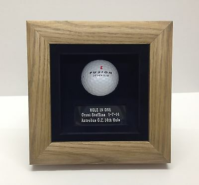 Golf Ball  Display / Presentation Case.   Hole In One   • 34.99£