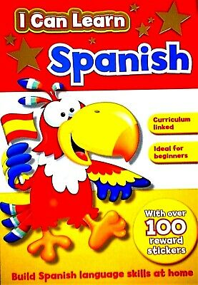 Spanish Learning Book I Can Learn Spanish, Curriculum Based, Beginners, Stickers • 2.99£