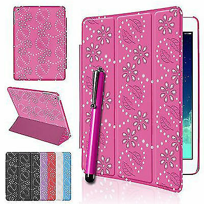 £4.49 • Buy Apple IPad Air IPad Mini Pro Smart Magnetic 2 Fold Bling Case Cover Stand Stylus
