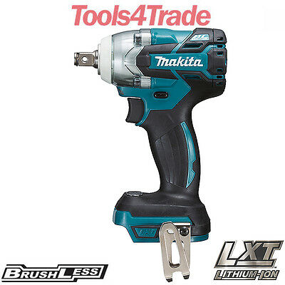 Makita DTW285Z 18V LXT Li-ion Cordless Brushless 1/2  Impact Wrench Body Only • 159£