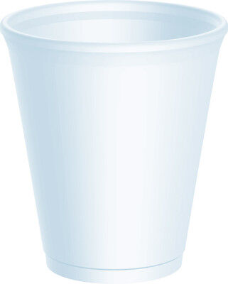 1000 X Dart 12oz Strong Foam Polystyrene Cups Disposable For Hot / Cold Drinks • 52.80£