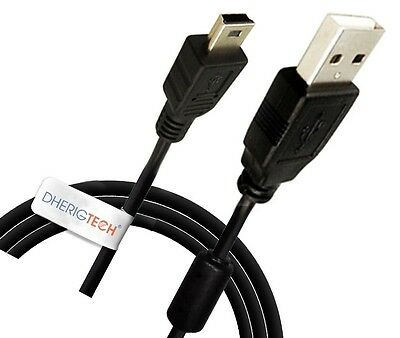 Usb Cable Lead For Rac 515f / 515 F / 1000 / 1100 / 5000 / Route 66 Sat Nav • 3.50£