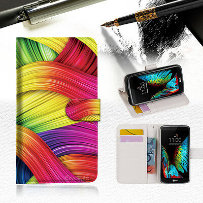 AU12.99 • Buy Meaningful Abstract Wallet Case Cover For ZTE AXON 7 Mini --A020