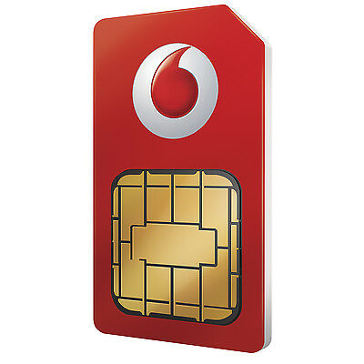 £0.99 • Buy Vodafone Multi Sim Card For Apple IPhone 4 & IPhone 4S 5 5S 6 7 8 Pay As You Go