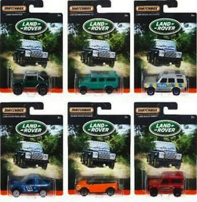 £21.99 • Buy Matchbox Land Rover Diecast Cars - Complete Set Of 6 - DPT02 - NEW