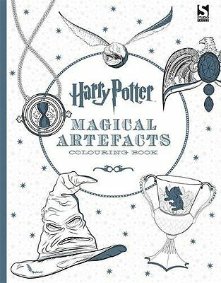 $ CDN10.86 • Buy  Harry Potter Magical Artefacts Colouring Book 4 - Paperback New 9781783705924