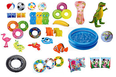 £7.99 • Buy Kids Blow Up Swimming Inflatables Summer Toy Holiday Beach Sport Float Pool Play