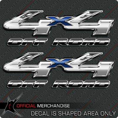 $19.99 • Buy Chrome 4x4 Truck Off Road Decal Blue Tundra