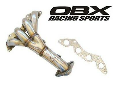 $212.81 • Buy OBX Header For 01 02 03 04 05 Honda Civic LX/DX 1.7L D17A1 Non-VTEC
