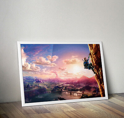 $24.99 • Buy Legend Of Zelda Breath Of The Wild Art Poster 24 X 36 Inches FAST USA SHIPPING