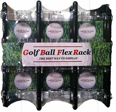 Golf Ball Display Rack Made In USA. Shelf. Case. Unique • 19.01£