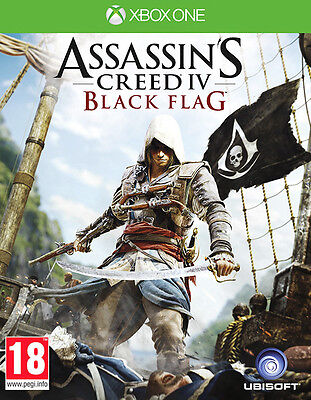 Assassins Creed 4 Black Flag ~ XBox One ( In Excellent Condition) • 24.45£