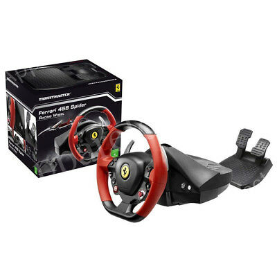 $176.52 • Buy Thrustmaster Ferrari 458 Spider Racing Steering Wheel For Xbox One