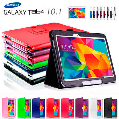 AU10.99 • Buy NEW Flip Case Cover For Samsung Galaxy Tab 4 10.1' T530 T535 T531