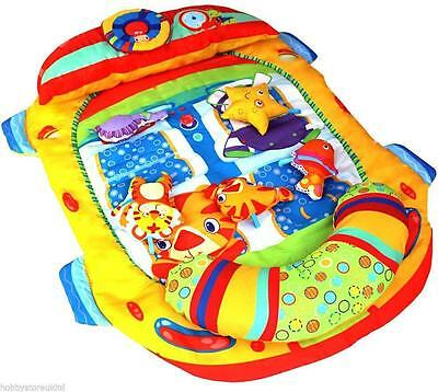 £14.85 • Buy New Baby Play Mat Basket Girl Boy Fun Activity Soft Colorful Paded Hanging Toy