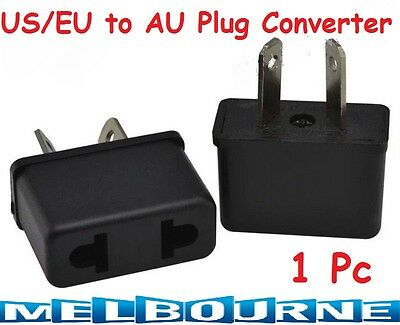 AU8.98 • Buy Usa Us Eu Adapter Plug To Au Aus Australia N Travel Ing Tour Ing Power Convertor