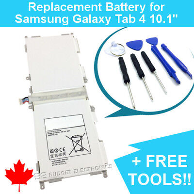 $13.42 • Buy Samsung Galaxy Tab 4 10.1 Replacement Battery EB-BT530FBC SM-T530 T531 T535