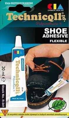 New-technicqll Shoes Strong Glue Adhesive Leather Rubber Felt Nylon Transparent • 2.39£