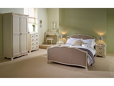 Brand New! Chantilly Antique White French Style Bedroom Collection • 464.99£