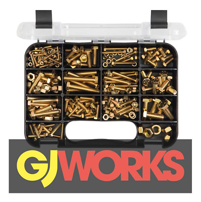 AU37 • Buy GJ Works Grab Kit 236 Piece Metric Hex Bolt & Nut Set Gka236