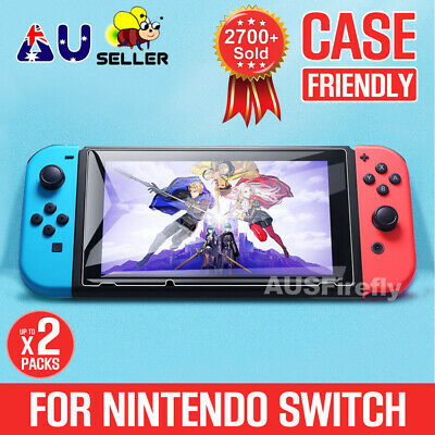AU7.95 • Buy 2 X NEW Nintendo Switch Tempered Glass Screen Protector For Nintendo Switch OZ