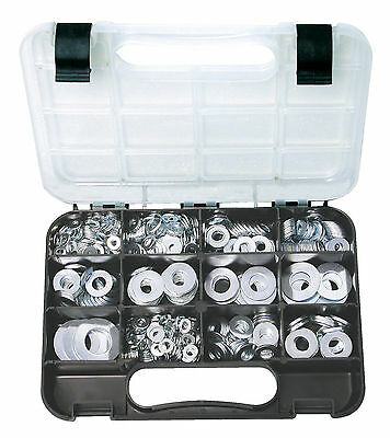 AU43 • Buy GJ Works Grab Kit 740 Piece Zinc Flat Washer Set GKA740 Metric Imperial