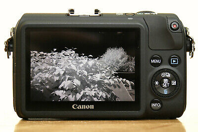Infrared 720nm Converted Canon EOS M Compact System Camera Body Ghost Hunting • 274£