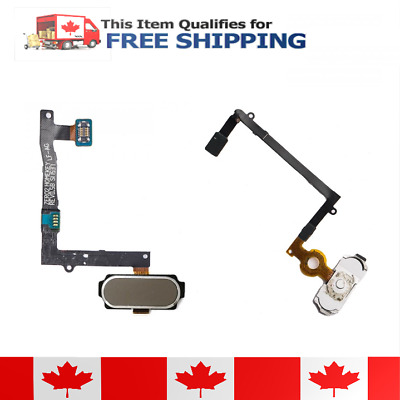 $ CDN12.95 • Buy Samsung Galaxy S6 Edge Plus Gold Home Button Flex Cable Assembly