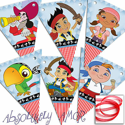 £2.29 • Buy Jake & The Neverland Pirates Bunting Party Decoration Birthday Banner/Garland SM