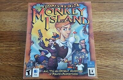 £56.70 • Buy Escape From Monkey Island Rare Mac OS Version (Lucasarts, 2000)