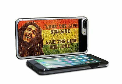 Bob Marley Love The Life You Live Phone Case Cover For IPhone & SAMSUNG • 6.93£