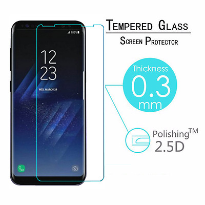 $ CDN1.84 • Buy New Tempered Glass Screen Protector Film Guard For Samsung Galaxy S8/S8 Plus AU
