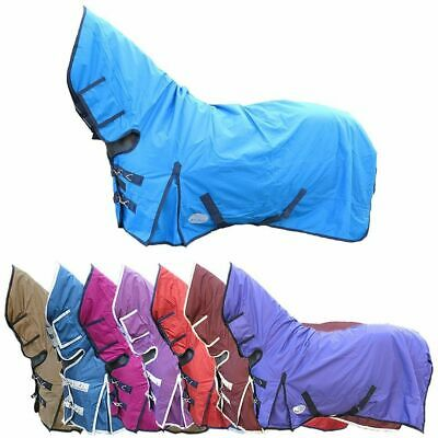 £50.40 • Buy Lightweight 100g Combo Waterproof Rain Travel Turnout Rug All Colours & Sizes