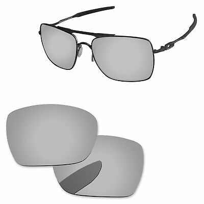 £10.61 • Buy PapaViva Chrome Silver Polarized Replacement Lenses For-Oakley Deviation OO4061