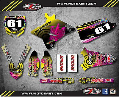 AU179.90 • Buy  Yamaha YZ 125 250 / 2015 2016 2017 Decal Kit NEON Style Stickers / Decals