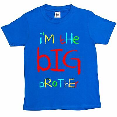 I'm The Big Brother Funny Kids Boys T-Shirt • 5.99£