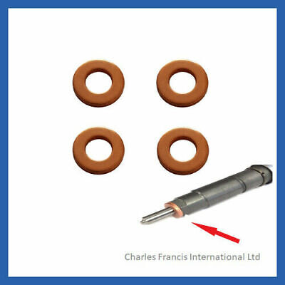 For Ford Galaxy 1.8 TDCi 125HP Siemens Diesel Injector Washers Seals Pack Of 4  • 4.94£