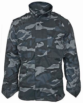 $102.48 • Buy Dark Camouflage M65 Field Jacket - US Army Military Parka With Winter Liner