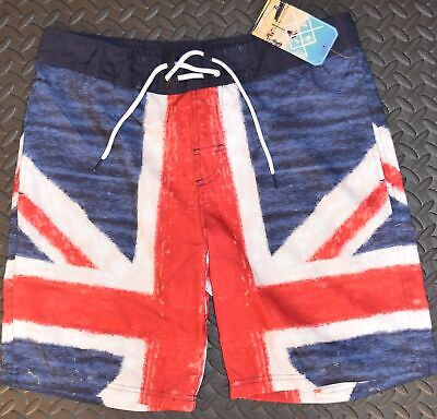 Mens British Flag Union Jack Swim Shorts PRIMARK Size XS Only • 29.99£