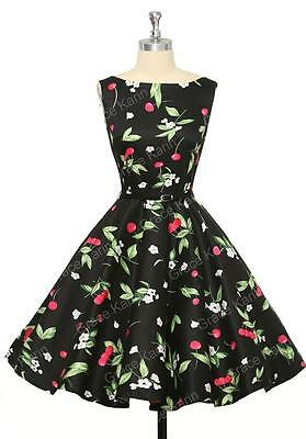 Grace Karin Womens Cocktail Dresses Summer Style Floral Print Retro Vintage 50s  • 22.99£