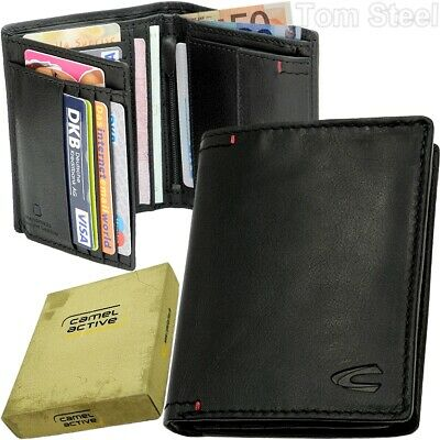 Camel Active Briefcase Wallet Portemonnaie Purse Vertical Format • 46.84£