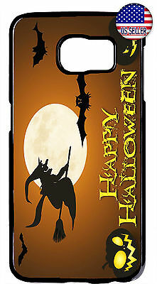 $ CDN18.43 • Buy Halloween Witch Pumpkin Scary Case Cover For Samsung Galaxy S10e S10+ S9 Plus S8