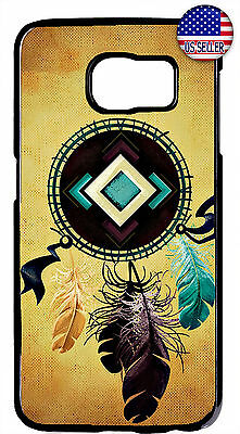 $ CDN18.43 • Buy Native Dream Catcher Feathers Case Cover For Samsung Galaxy S10e S10+ S9 Plus S8